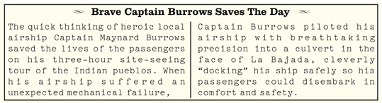 Brave Captain Burrows Saves The Day